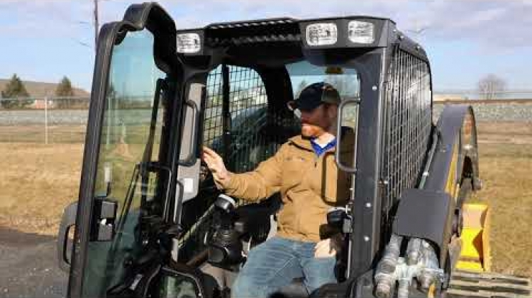 Using EZ EH Control Settings - New Holland