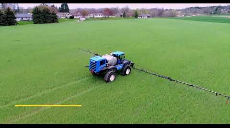 SP370F Guardian™ Sprayer in Action