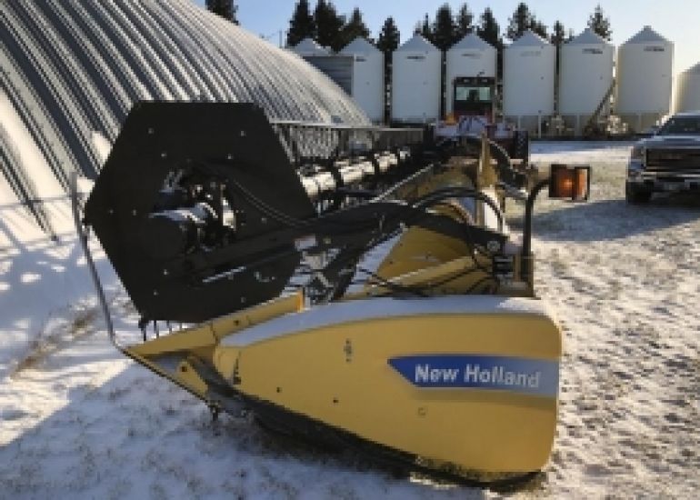 2008 New Holland 74C Header Combine