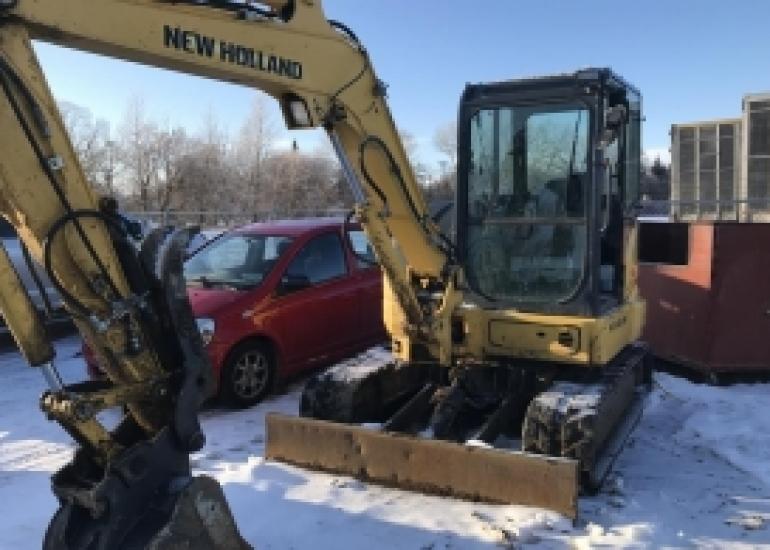 2015 New Holland E55BX Excavator