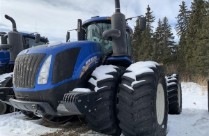 2017 New Holland T9.600HD Tractor